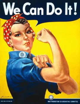 Poster We Can Do It, un clàssic